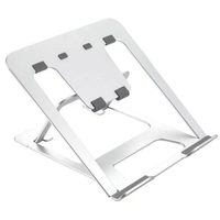 Adjustable Aluminum Laptop Stand  Ergonomic Riser Notebook Computer Holder Stand Compatible for Mac Book Air Pro