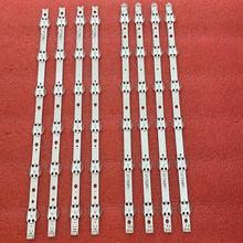 8 סט = 32pcs רצועת תאורת LED האחורית עבור LG 49UV340C 49UJ6525 49UJ6585 49UJ6565 49UJ651V 49UJ670V 49UJ701V V17 49 R1 l1