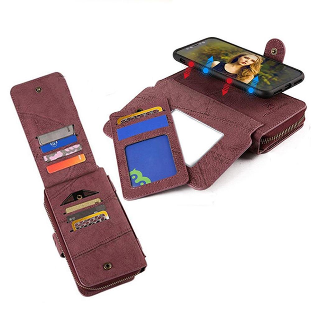 MEGSHI-SanDai multifungsi kulit telepon kasus untuk Samsung A51 A71 - Aksesori dan suku cadang ponsel - Foto 4