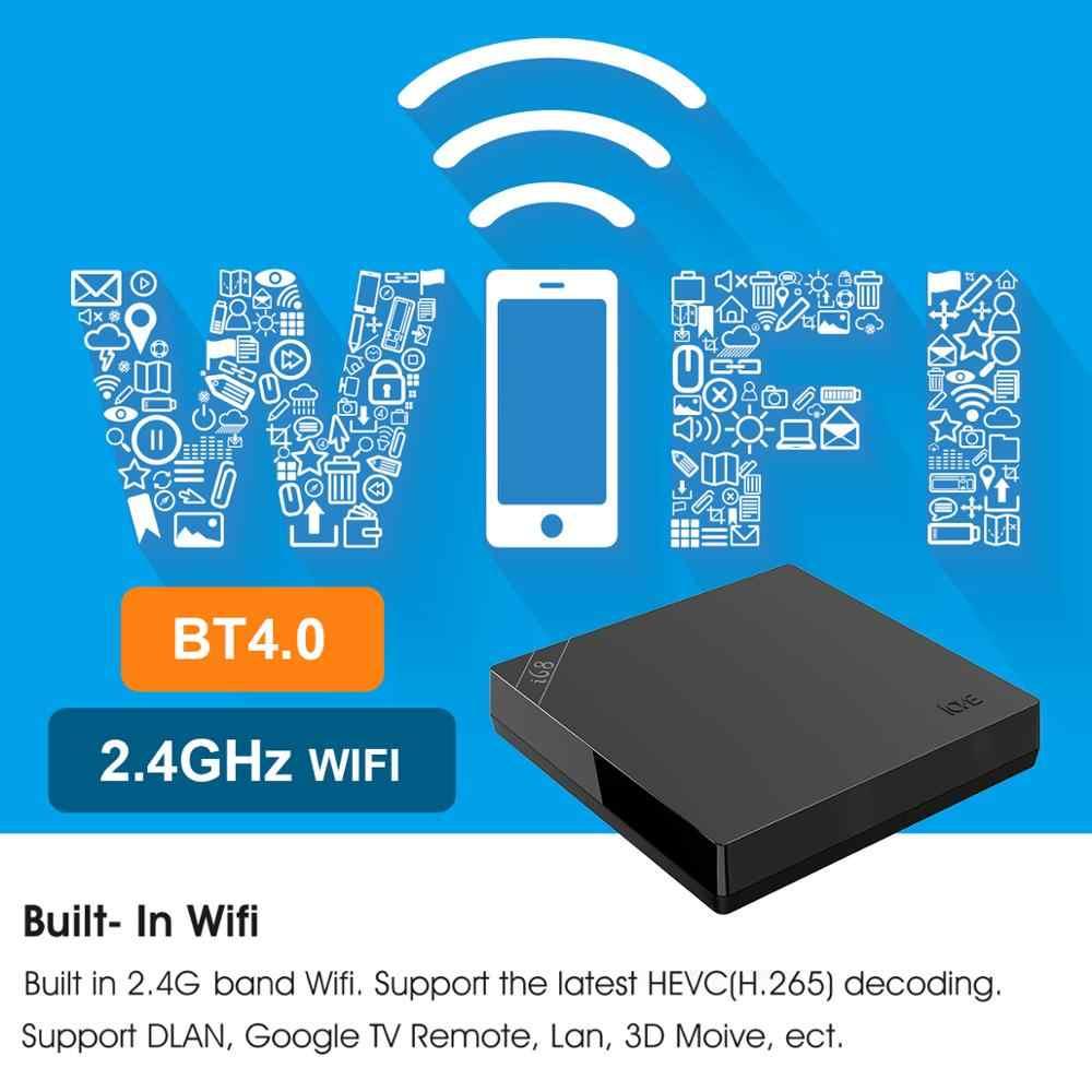 Android tv box rockchip RK3368 tv, pudełko 2GB 16GB Wifi 2.4G Bluetooth V4.0 wsparcie 4K * 2K Google sklep Google play Youtube dekoder