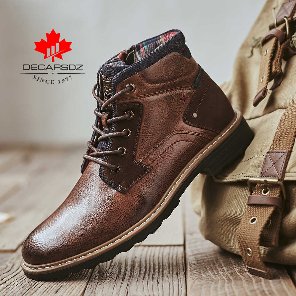 DECARSDZ Men Boots 2020 Autumn \u0026 Winter