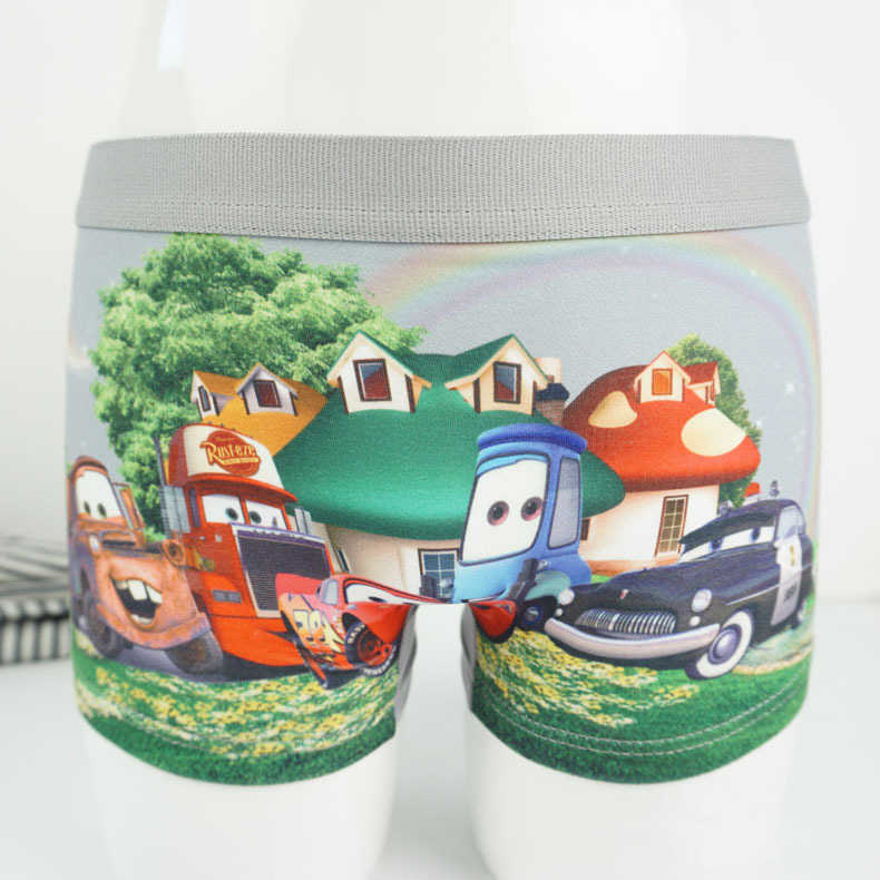 4pcs/lot Cars baby boys underwear kid panty Cartoon Underpants Quality Automobile General Mobilization Pants Catamite panties