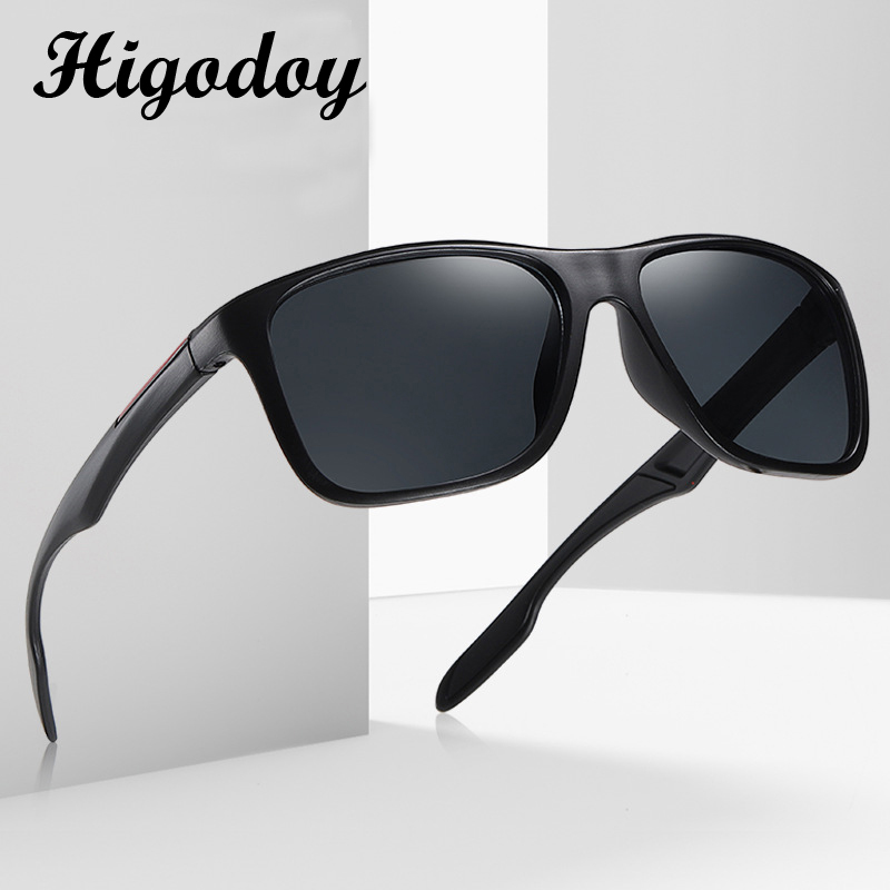 Higodoy Oversized Vintage Sunglasses Retro UV Protection Men Sunglass Driver Mirror Men Sun Glasses Brand Designer Gafas De Sol
