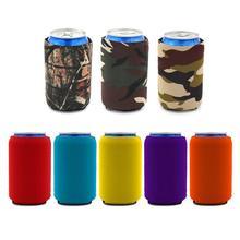 Прочный 10x13cm изолированные напитка колы пиво бутылки рукавом кружка портативный чехол держатель чашки теплоизоляция сумки аксессуары