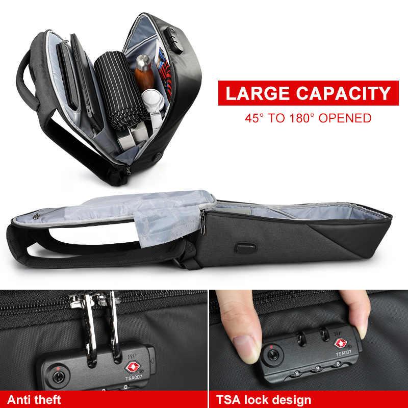 Büyük indirim TSA kilit Anti hırsızlık erkekler sırt çantası Laptop sırt çantaları su geçirmez seyahat RU hızlı teslimat tasfiye satışı düşük fiyat