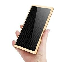 Solar Power Bank 10000mah Waterproof Powerbank Portable Charger Battery External Battery Power Supply for Xiaomi Iphone стоимость