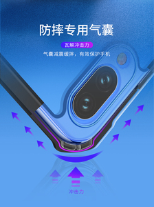 Image 3 - For Xiaomi Redmi Note 7 чехол Ring Case XUNDD Airbag Shockproof Transparent PC TPU Bumper Back Cover for Redmi Note 7 Pro Case