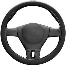 Cubierta Universal para volante de coche, funda protectora de silicona antideslizante colorida para volante, decoración Interior para automóvil