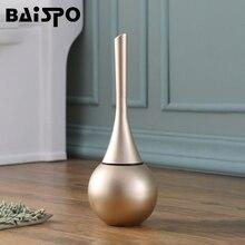 BAISPO 화장실 브러시 바닥 스탠딩 기본 클리너 브러시 도구 화장실 WC 욕실 액세서리 세트 가정 용품