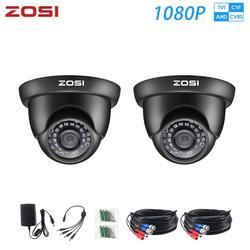 ZOSI 1080P AHD CVI TVI analogowy videcam wideo cctv bezpieczeństwo w domu Nightvision wodoodporna kamera dla system nadzoru DVR zestawy w Kamery nadzoru od Bezpieczeństwo i ochrona na