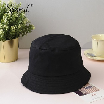 Soild Foldable Bucket Hat  4