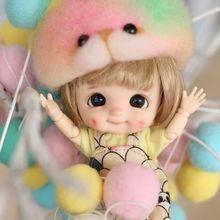OB11 кукла, 3,0 Dimples кукла Кастомизация 8/1 BJD куклы Мини-куклы, Dimples