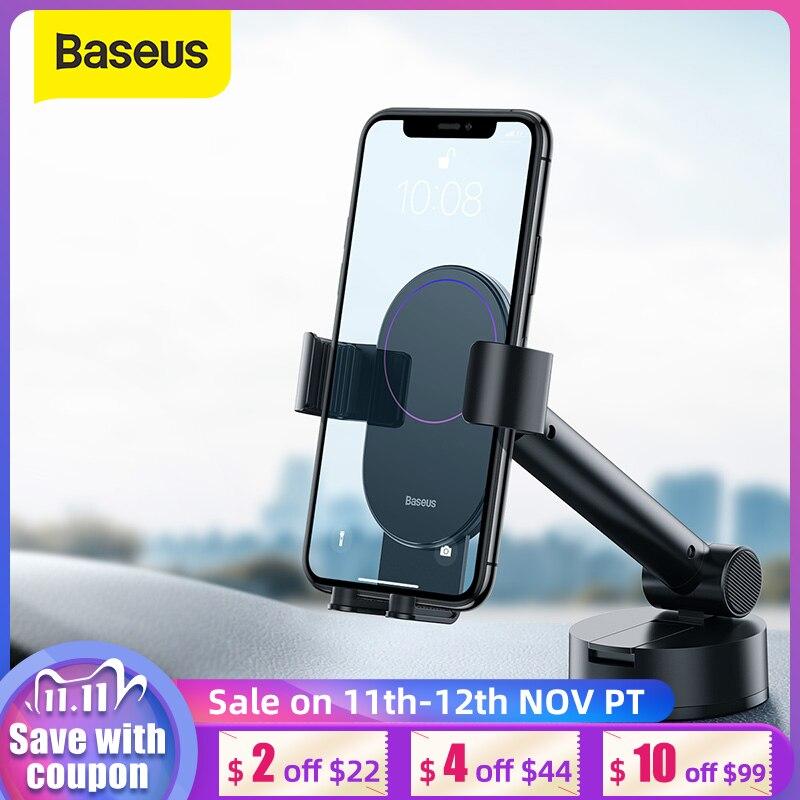 Support de téléphone de voiture de Baseus pour le Support de Support de téléphone portable pour le Support de téléphone portable de bâti dévent de voiture diphone dans le Support de téléphone de voiture