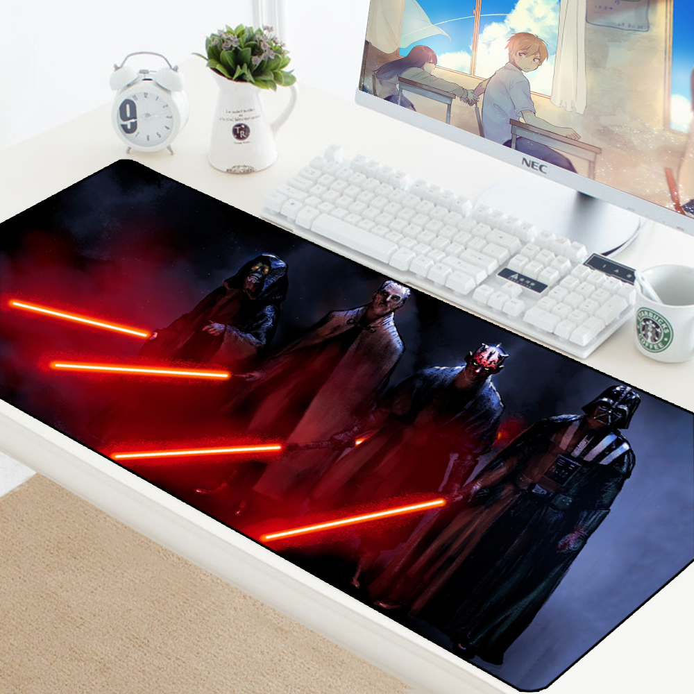 Star Wars King Gaming Mouse Pad XL Keyboard Computer Gamer Desk PC Laptop Computer Home Office Speed Mice Play Mat Pad Available
