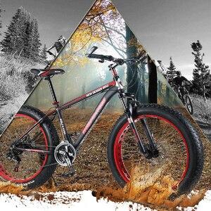 Image 5 - 자전거 바퀴 바퀴 26*4.0 합금 바퀴 산악 자전거 바퀴 알루미늄 합금 지방 자전거 속도 초경량 바퀴 무료 배송