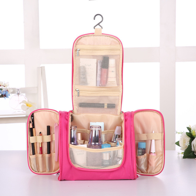 Cosmetic Toiletry Storage Bags Organizer Women's Men's Beauty Makeup Towel Box Case Home Outdoor Travel Overnight Organization 4
