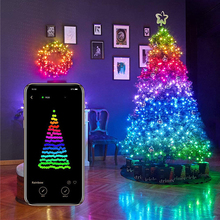 Kerstboom Smart Led Strip String Lights App Controlled Party Decoratie 250 Bollen 20M Waterdichte IP65 Slimme Verlichting