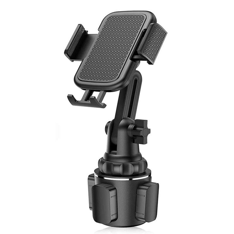 Soporte Universal para taza de coche, soporte de montaje para teléfono móvil para teléfonos móviles, soporte ajustable para taza de coche para teléfono Huawei Samsung