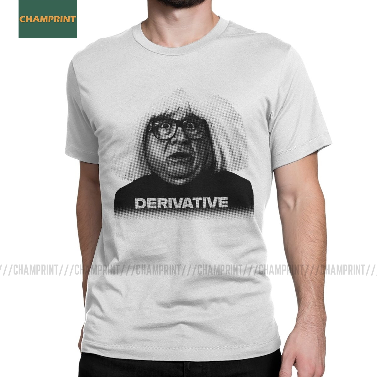 Ongo Gablogian Derivative It's Always Sunny In Philadelphia T-Shirt Men Danny DeVito Nightman Cotton Tees Short Sleeve T Shirts