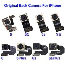 Asli Utama Belakang Kembali Besar Kamera untuk iPhone 5 SE 5 S 5C 6 6 Plus 6S 6S plus 8 8 Plus X XR X Max FLEX Kabel