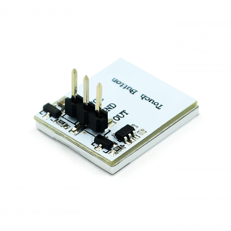 Сенсорный переключатель модуль синий и красный цвета; Цвет зеленый, желтый, Цвет Фул Цвет серии HTTM емкостный сенсорный модуль переключатель