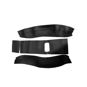 Image 2 - 5 Pcs Interieur Auto Center Armsteun Doos Pad Microfiber Leather Cover Trim Voor Toyota Highlander 2015 2016 2017 2018