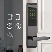 Smart Door Code Lock,Security Home Keyless Lock, Wifi Password RFID Card Lock Wireless App Phone Remote Control Brazil FreeTax
