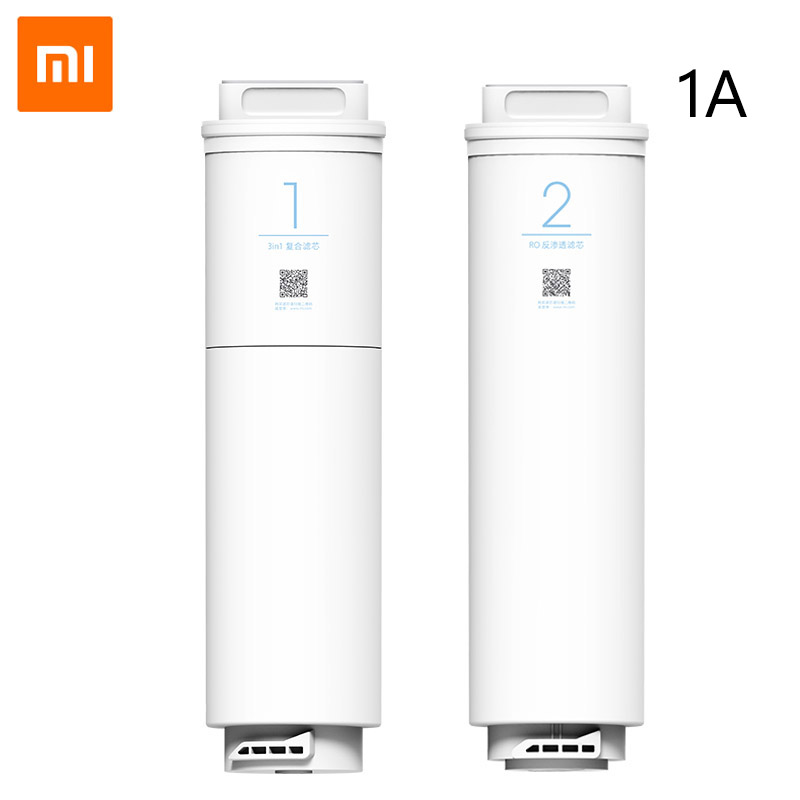 Xiaomi Water Purifier 1A Water Filter Original Replacement 3 in 1 Composite Filter Reverse Osmosis Filter Water Treament image