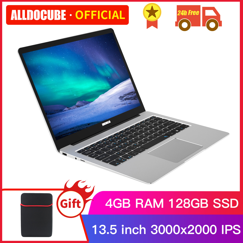Alldocube KBook Lite 13.<font><b>5</b></font> inch intel Apollo Lake N3350 Windows 10 Quad Core Tablet 4GB RAM 128GB SSD 3000*2000 IPS with keyboard image