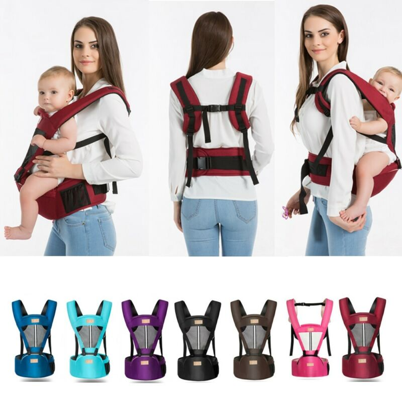 2020 Baby Backpacks Carriers Newborn Infant Adjustable Comfort Baby Carrier Sling Rider Backpack Wrap Straps For 0-4T 7lb - 45lb