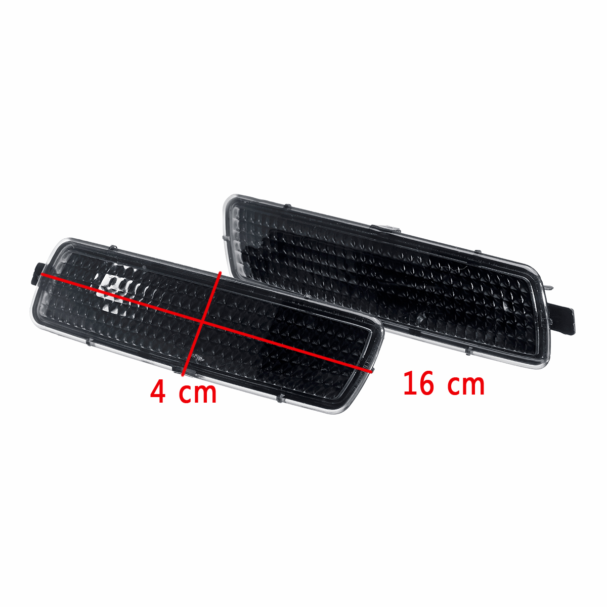 Car Front Bumper Side Marker Light Indicators Turn Signal Lamp no Bulbs For <font><b>VW</b></font> MK6 Golf for Jetta <font><b>Sportwagen</b></font> 2010-14 Light Shell image