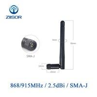אנטנה עבור 4pcs 868MHz 915MHz GSM לורה אנטנה נתב Wifi אומני אנטנות SMA זכר צלצלה עבור משחזר Antena WLAN TXGN-JK-11 (1)