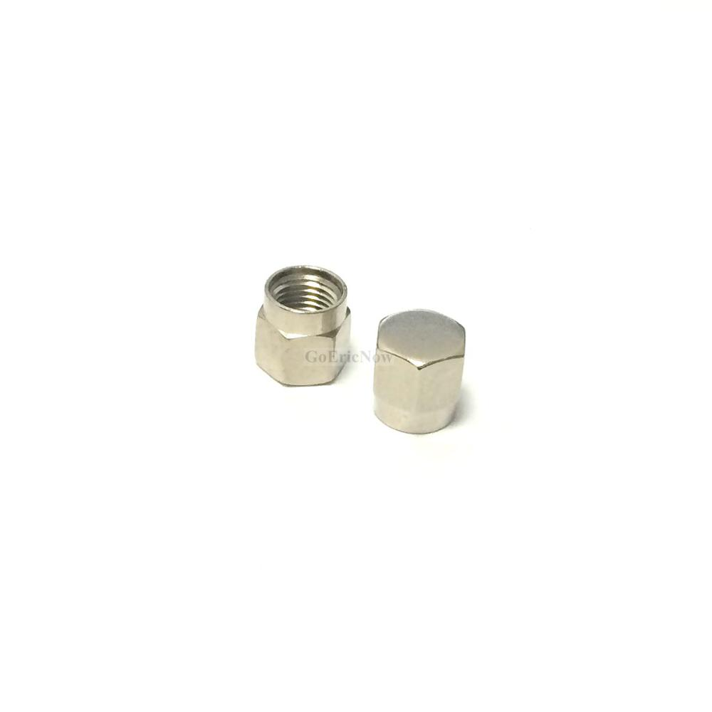 Image 2 - 20 pcs /lot RF Connector  SMA Dust cap without chain SMA metal protective cap Connector Plug-in Connectors from Lights & Lighting