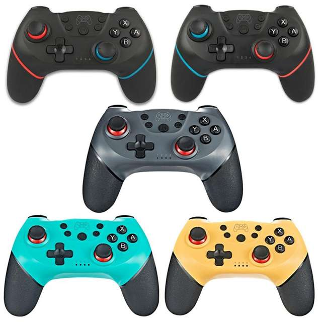 Wireless Bluetooth Gamepad Controller with 6-Axis Handle for Switch Pro NS-Switch Pro
