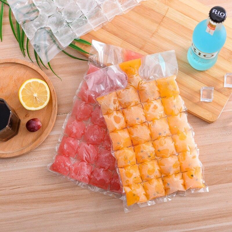 Fabricants vente directe auto-style sac de glace personnalisable jetable bac à glace sac réfrigération glace Pack alimentaire fraîcheur Prot