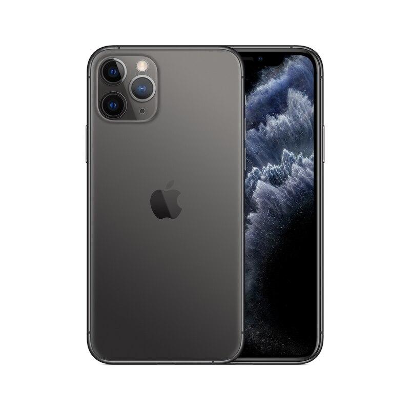 PanTong iPhone 11 Pro 64G 5,8 дюймов настоящий телефон полный экран телефон Apple авторизованный онлайн продавец - Цвет: Space Gray