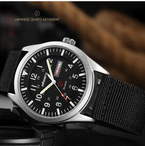 Image 2 - Infanterie militaire montre hommes lueur dans lobscurité montre bracelet hommes montres haut de gamme de luxe armée Sport Date étanche Relogio Masculino