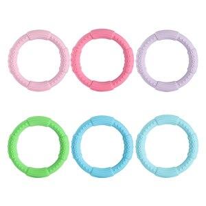 Image 4 - 3 sztuk ząbkowanie bransoletka dla dzieci silikonowa bransoletka typu Bangle dla dzieci dla dzieci do karmienia opaska na nadgarstek gryzak biżuteria przypominająca jedzenie klasy silikonowe BPA darmo