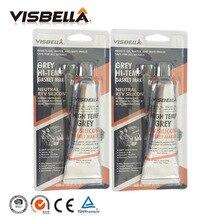 VISBELLA 2Pcs RTV Silicone Gasket Maker Sealant High Temperature Fast Glue for Engine Drive Housings Electric Repair Glue 85g