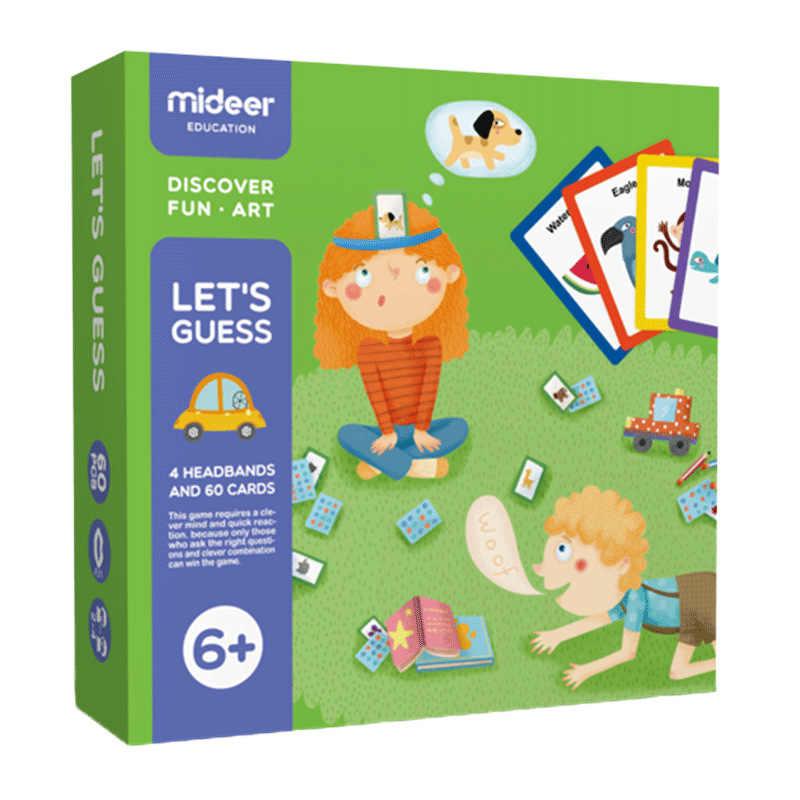MiDeer Di Puzzle Giochi Da Tavolo 3-6Years Si Disegna Me Per Indovinare Giocattoli Genitore-bambino Interactive Prima Infanzia Giochi Giocattolo di Puzzle di Puzzle