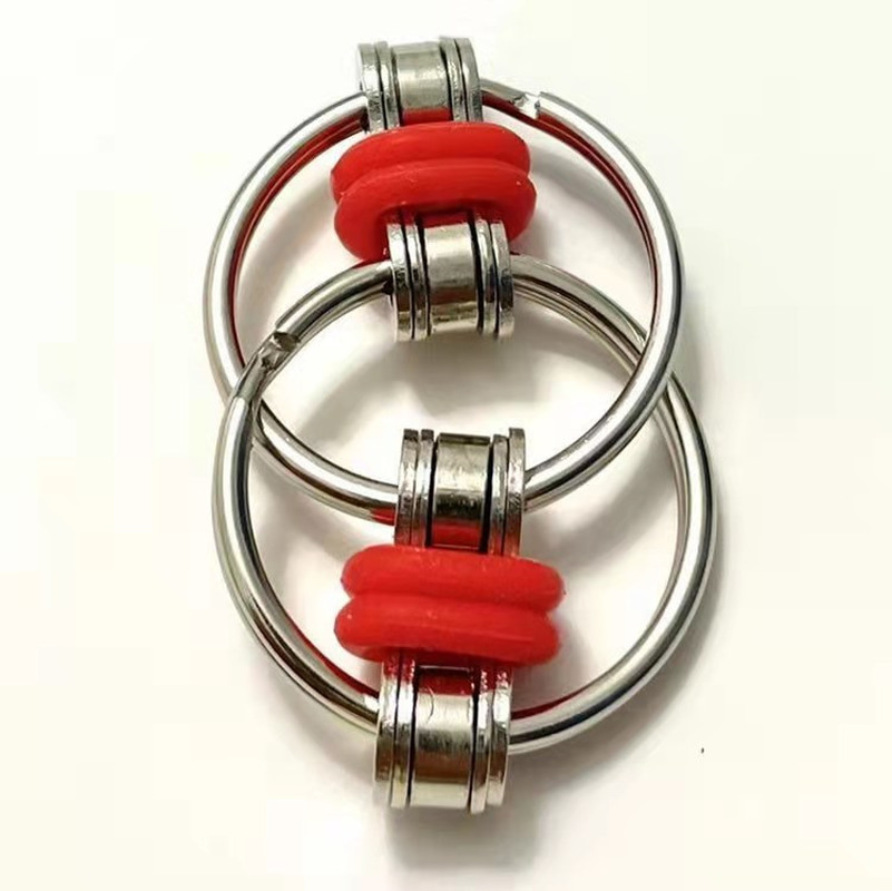 Toys Bike-Chain Fidget-Toy Autism Stress Hands ADHD Children for Funny 1PC 5-Colors Creative img5