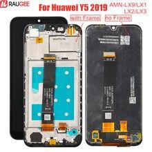 Tela lcd para huawei y5 2019, + tela touch com digitalizadora de quadro para huawei y5 2019 AMN-LX9/tela lcd lx1/lx2/lx3