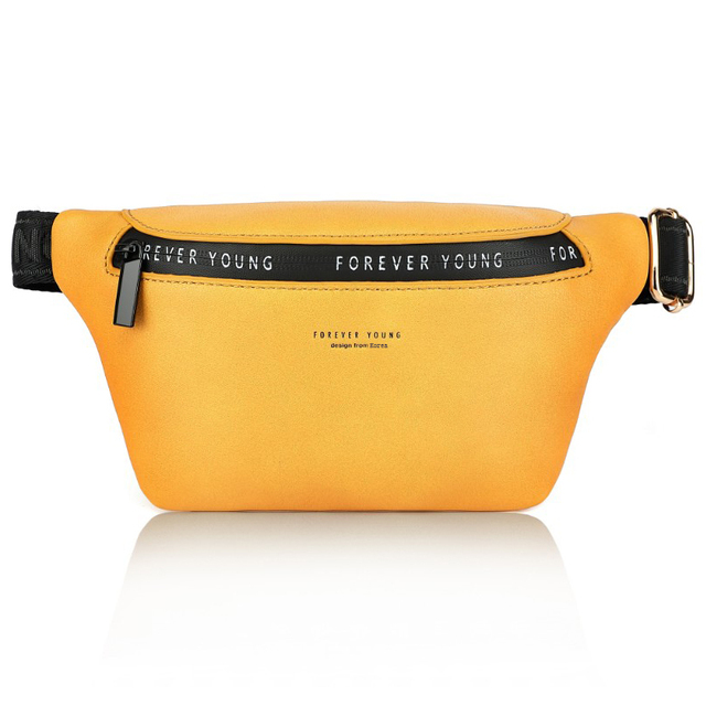 New High Quality Women Fashion Belt Bag  Large Capacity Waist Pack  Leather Waist Bags Pocket Bags Multifunction Chest Bag 1