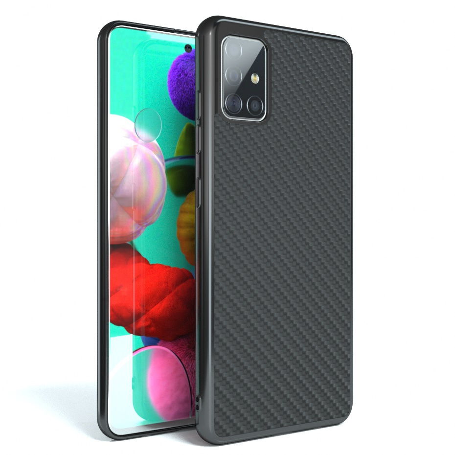 Soft Silicone TPU Frame Classic Weave Case For Samsung Galaxy S20 Ultra