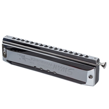 Chromatic Harmonica Silver tone 16 hole 64 Mouth Music Instruments недорого