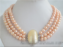"free shipping $wholesale_jewelry_wig$ free shipping Details about 60"" 8-9mm gray baroque freshwater cultured pearl necklace(China)"