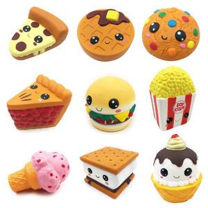 10pieces Icecream Cake Bread squishy toy
