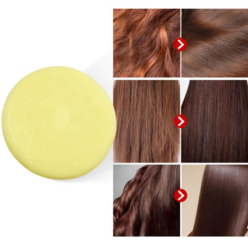 HOt Sale Handmade Hair Shampoo Soap Cold Processed Shampoo Bar 100% Pure Hair Shampoos Orange Smell Hair Care Tool Beauty