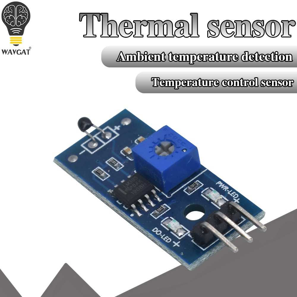 24V Detection Switch Module 1 Channel Thermistor Sensor Temperature ATF