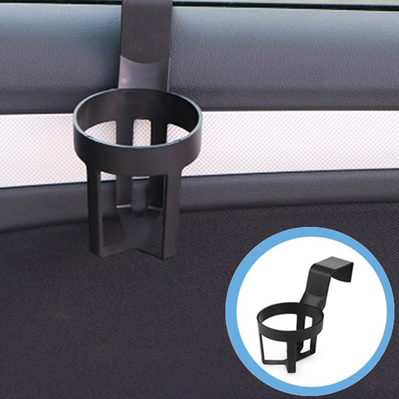 2PCS Universal Car Cup Holder Door Mount Water Bottle Can Mug Stand Drink Rack